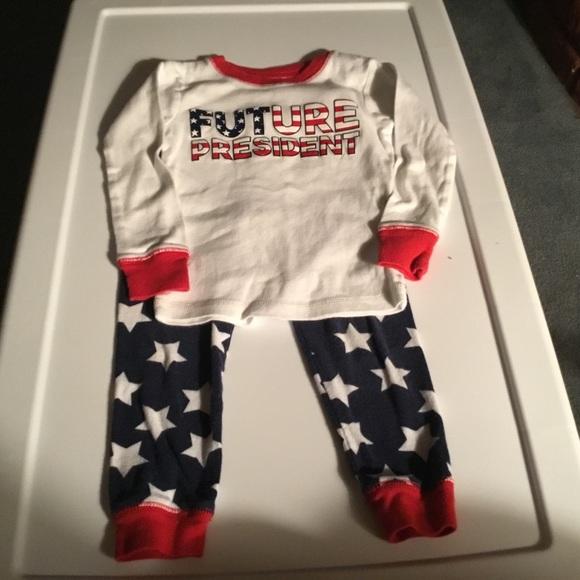 bc5abc4ef Carter's Pajamas | Carters Future President Pajama Set Size 3t ...